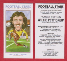 Motherwell Willie Pettigrew Scotland 13